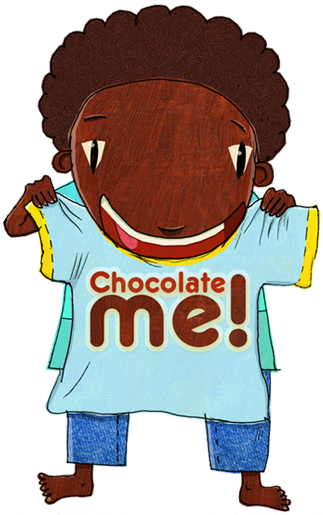 I love my chocolate me tee