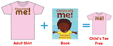 book and tee shirt bundle