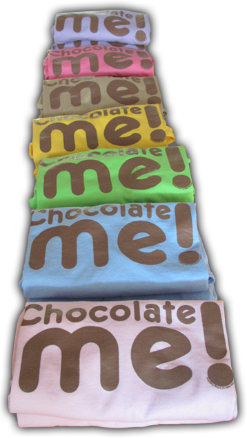 chocolate me tee shirt colors